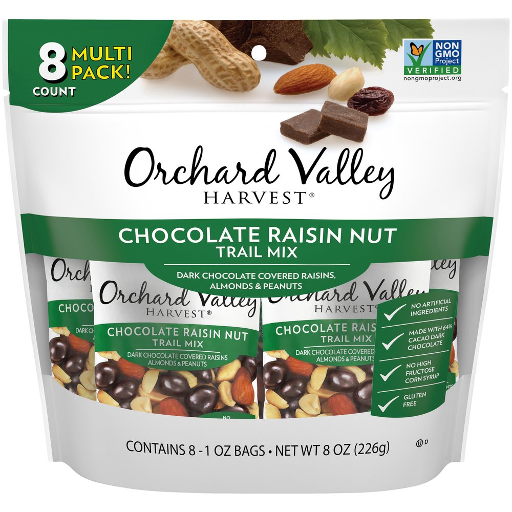 Chocolate Raisin Nut Trail Mix