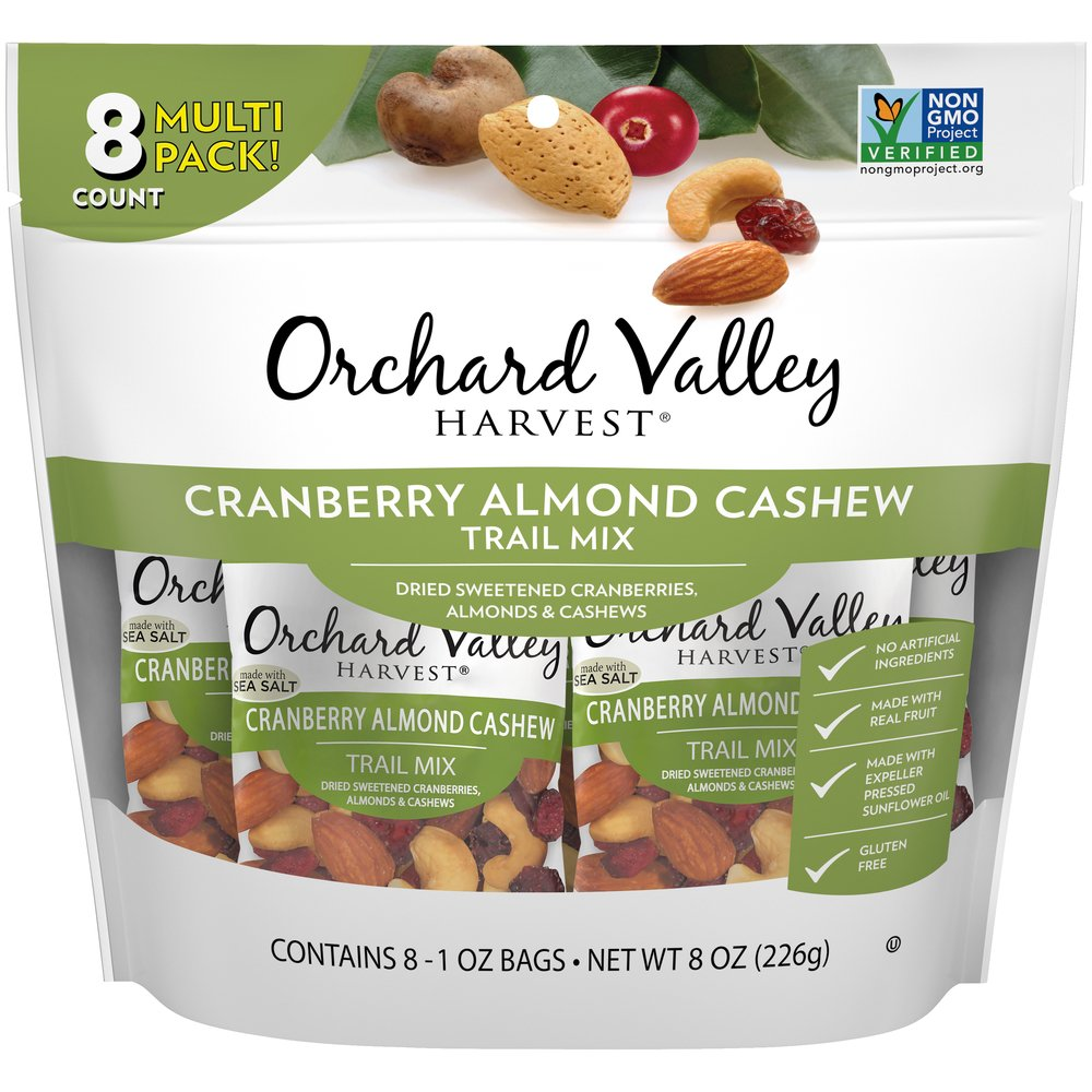 Cherry Almond Cashew Trail Mix
