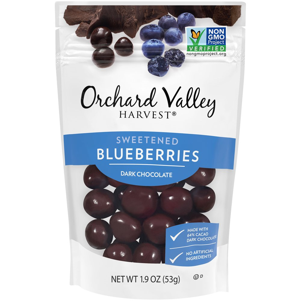 Dark Chocolate Covered Blueberries: Grab & Go