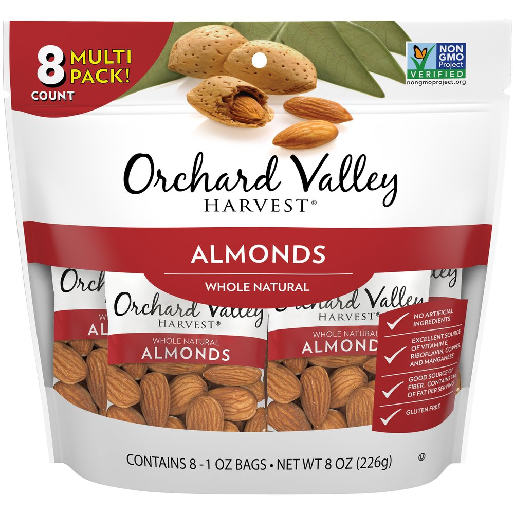 Almonds, Whole Natural