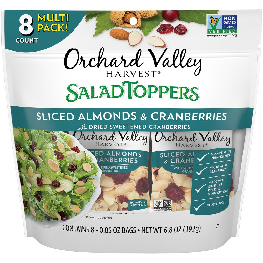 Salad Toppers Sliced Almonds & Cranberries