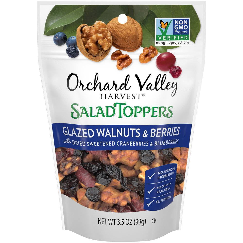Salad Toppers Glazed Walnuts & Berries