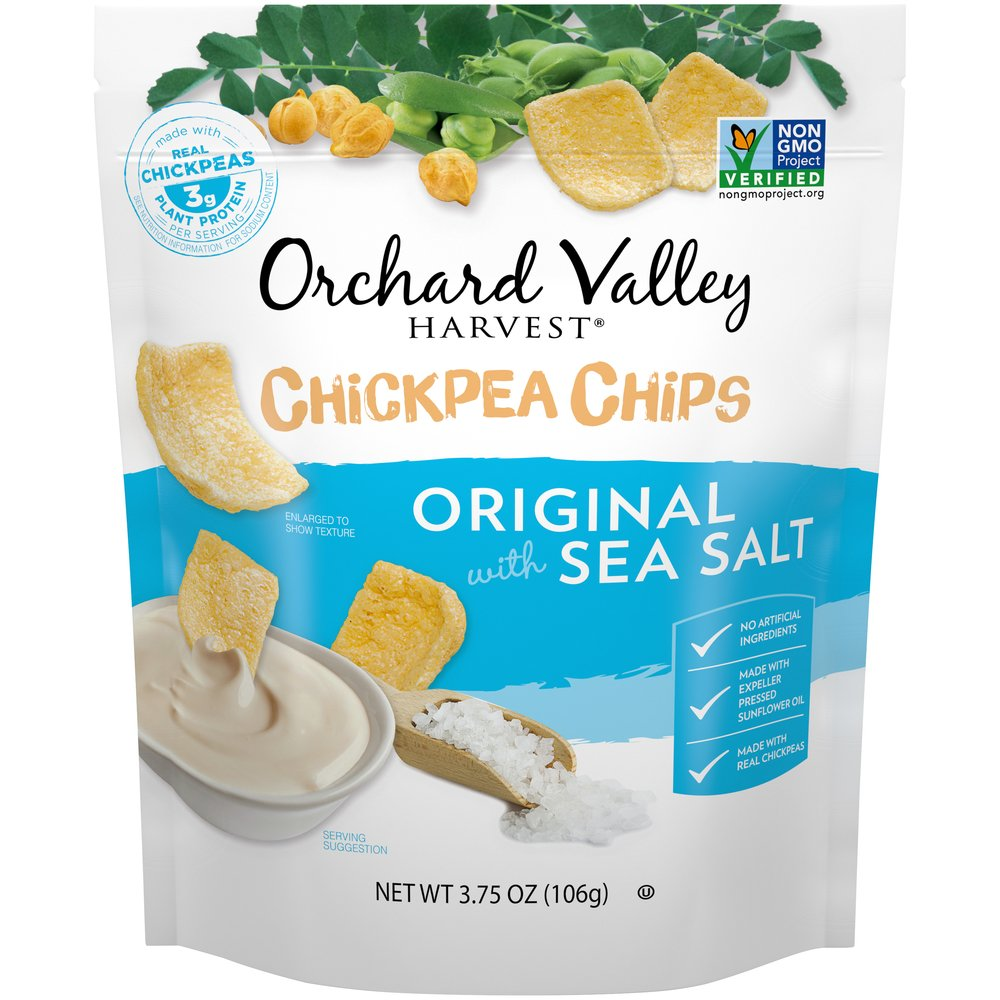 Chickpea Chips: Original with Sea Salt
